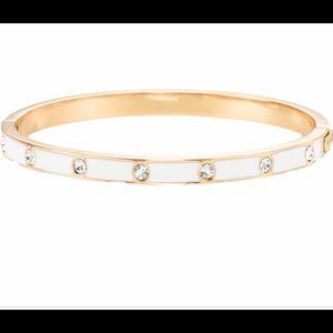 Kate Spade white/gold bracelet.